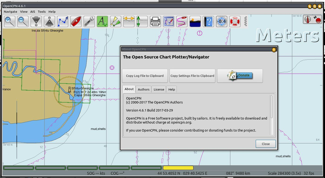 eDelta ro - Portal delta Dunarii  Cotele Dunarii - OpenCPN